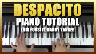 """Despacito"" - Piano Tutorial - Luis Fonsi ft. Daddy Yankee + Sheet Music 