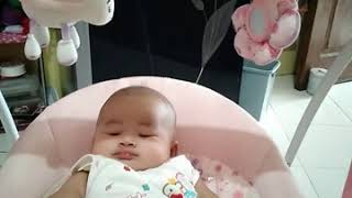 Assalamualaikum baby mahira... Baby swing