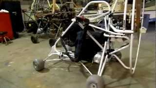 2011 buckeye dragonfly powered parachute for sale white