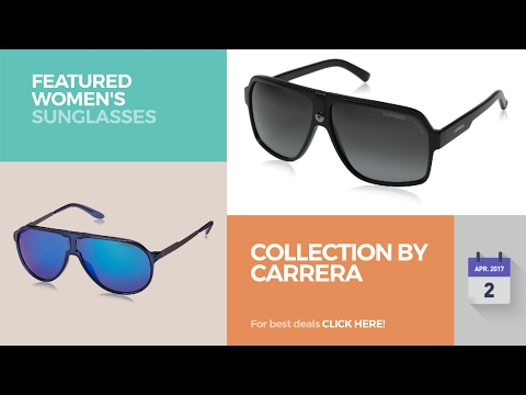 323ca37c9c Collection By Carrera Featured Women's Sunglasses - YouTube