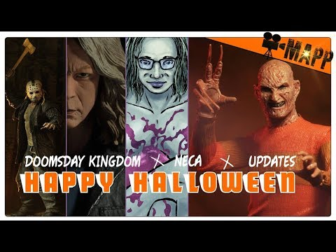 HAPPY HALLOWEEN UPDATE! Doomsday Kingdom, NECA NEWS, Deeper Into Premiere