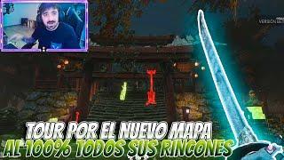 DEAD BY DAYLIGHT | TOUR POR EL NUEVO MAPA AL 100% TODOS SUS RINCONES Y ACABO CON TODOS CON EL ONI