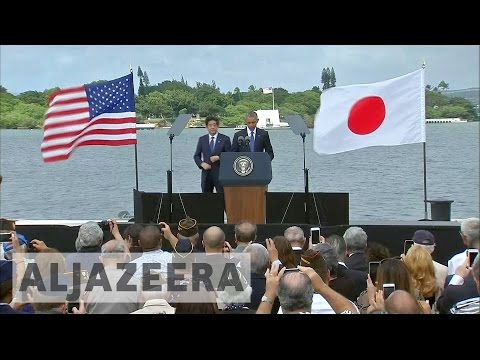 Japanese PM visits Pearl Harbor to promote reconciliation