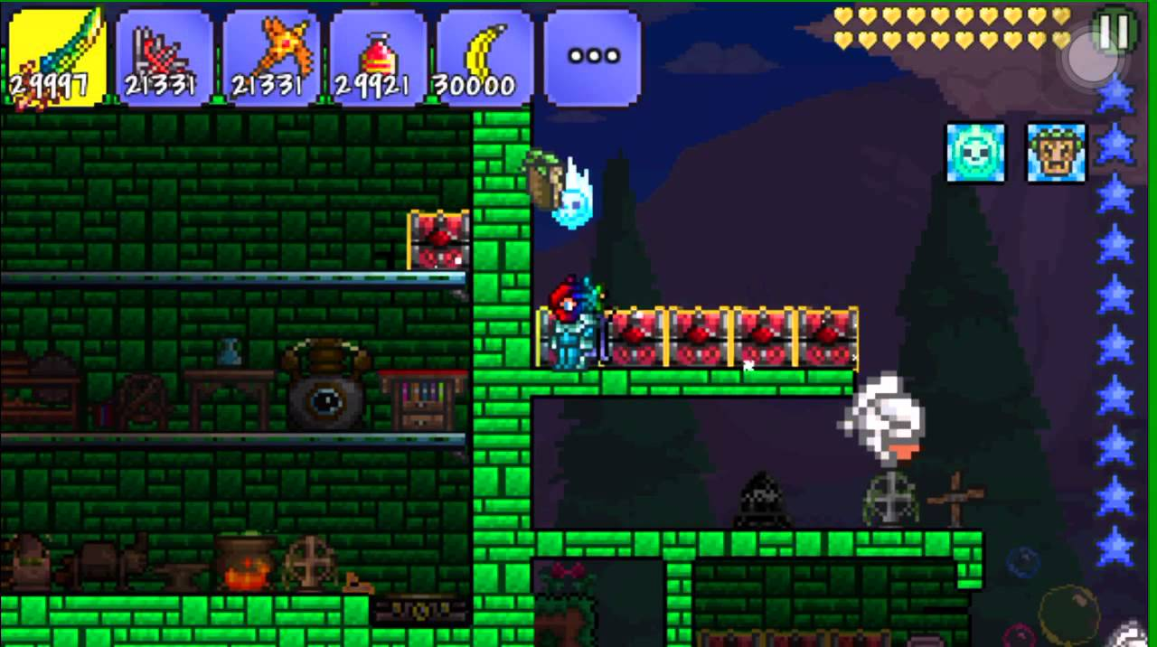 Terraria hacked world download