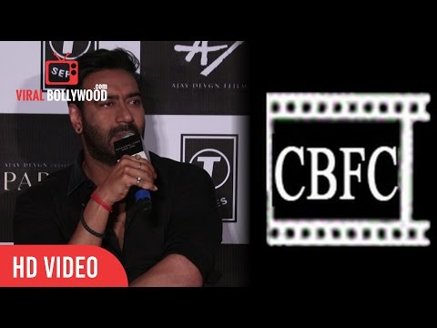 Ajay Devgan On CBFC Cuts | Central Board of Film Certification |Viralbollywood
