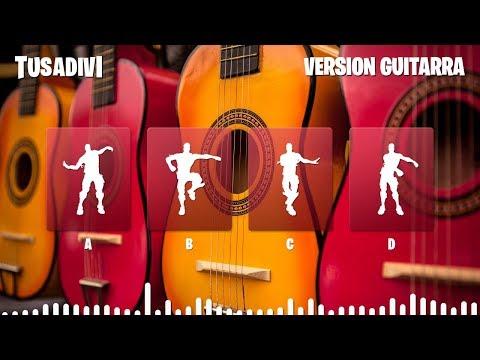GUESS THE FORTNITE DANCE  ITS CLASSIC GUITAR VERSION MUSIC  FORTNITE CHALLENGE  tusadivi