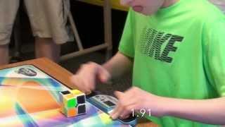 1.69 2x2 Rubik's Cube (Former) World Record Average! - Rami Sbahi (Guinness World Record!)