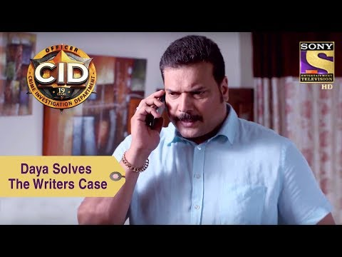 Your Favorite Character | Daya Solves The Writers Case | CID