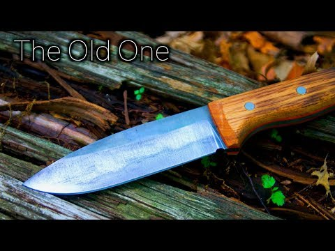 Knife Making For Beginners - The Old One - How to Make A Knife That Looks Old