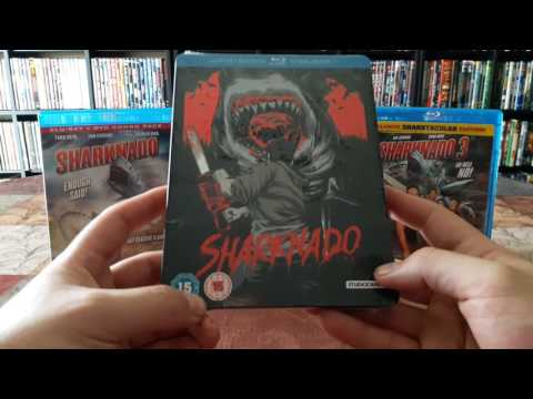 My eBay purchase #8 😃 Zavvi exclusive Sharknado steelbook unboxing! streaming vf