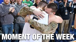 Soldier Surprise Holiday Homecoming  | Moment of the Week