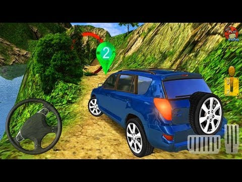 Offroad Land Cruiser Jeep Drive - Real 4x4 SUV Hill Simulator - Android GamePlay