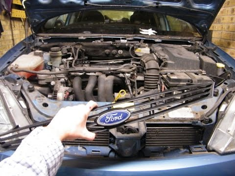 Ford Focus Radiator Grille Removal Youtube