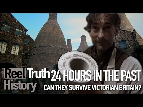 Surviving A VICTORIAN Factory (24 Hours In The Past) | Reel Truth History