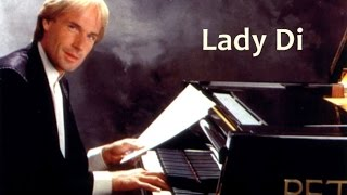 Músicos do Piano - Richard Clayderman - 'Lady Di'