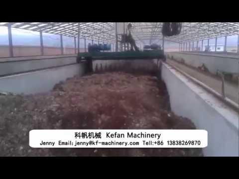 Organic fertilizer production line——kefan machinery