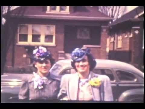 Family 1941-1942 Lydia and Louise (Home Movies)