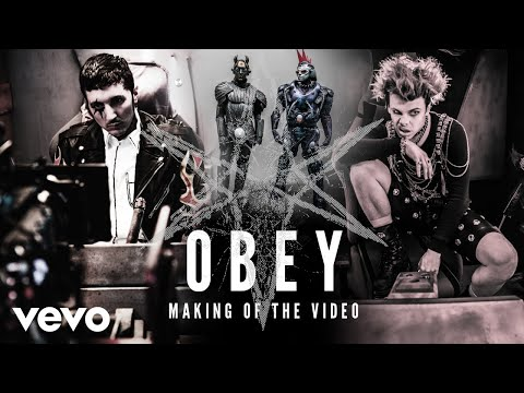 """Bring Me The Horizon - """"Obey"""" with YUNGBLUD (Making Of The Video)"""