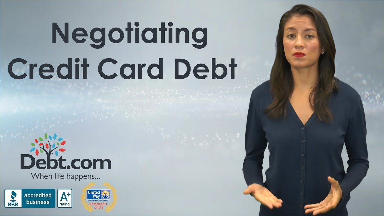 Credit Card Debt Negotiation: How to Negotiate Effectively - Debt com