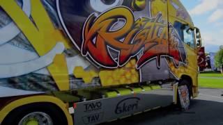 Шоу крутых грузовиков