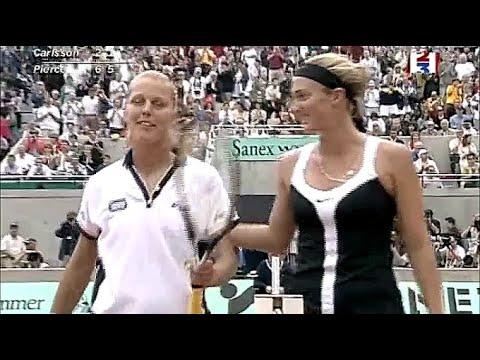 Mary Pierce vs Asa Carlsson 2000 RG Highlights