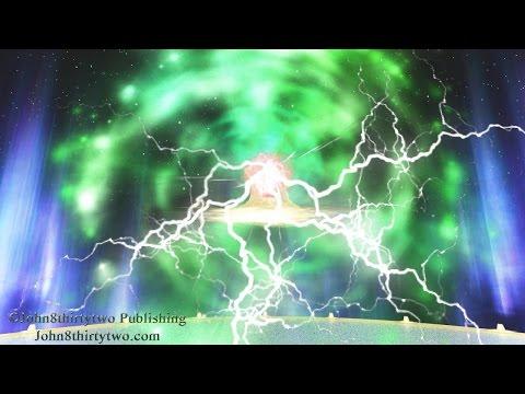 Guds trone, Åbenbaringen 4 og 5, Åbenbaring,Dansk,Danish subtitles, Himmelen, himlen, billeder