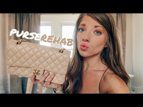 CHANEL CLASSIC FLAP RESTORATION | Purse Rehab Malibu Review + Experience
