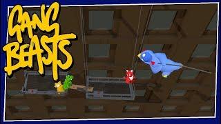 Gang Beasts - #221 - RETURN OF FLYING CHICKEN!