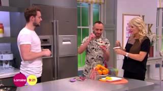 Tasting John Whaite's Rhubarb Fool | Lorraine