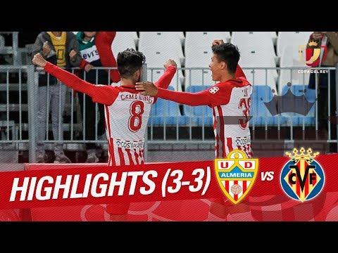 Resumen de UD Almería vs Villarreal CF (3-3)