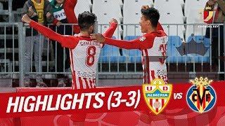 Resumen-de-UD-Almería-vs-Villarreal-CF-3-3