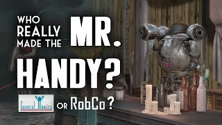 Who REALLY Made the Mr. Handy? General Atomics or RobCo? - Fallout Lore