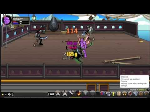 best place to farm gold aqw