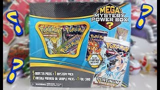 Opening A Pokemon Mega Mystery Box!!