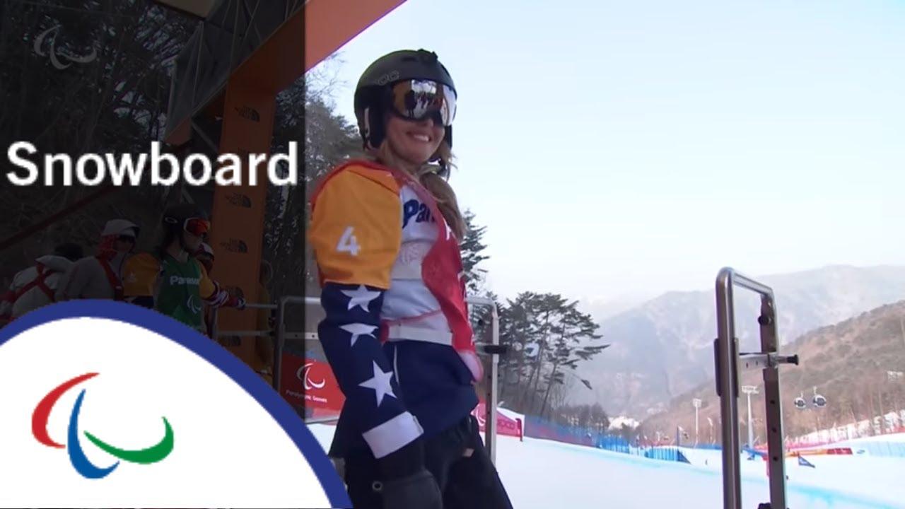 Brenna HUCKABY VS. Amy PURDY |Snowboard cross | Big Final| PyeongChang2018 Paralympic Winter Games