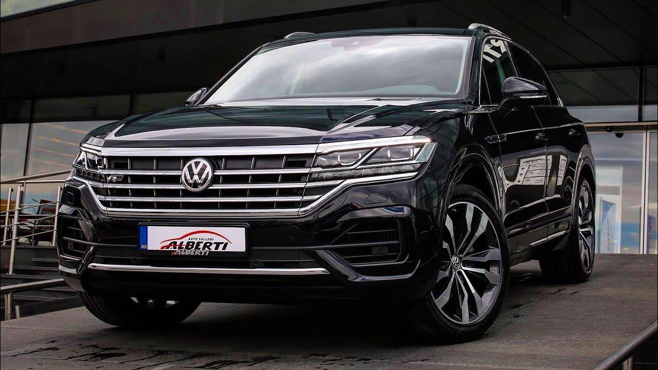 2020 volkswagen touareg r line review interior exterior