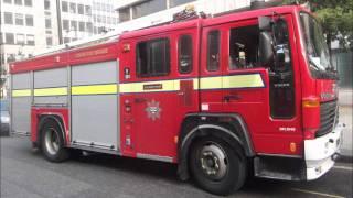 London Fire Brigade - 20 Pump Fire A24 Soho Ground