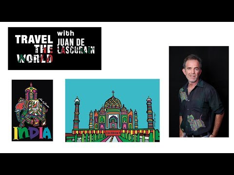 TRAVEL THE WORLD - (Juan de Lascurain) 2018  (INDIA)