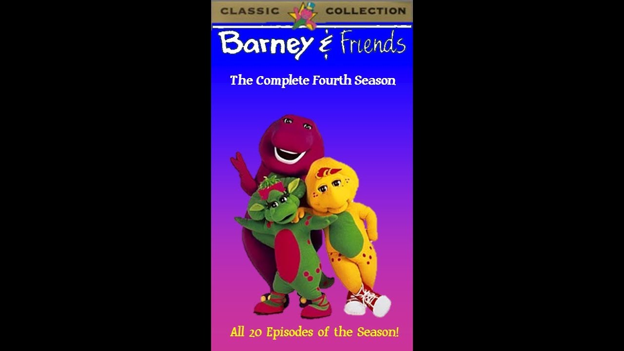 Barney & Friends: The Complete Fourth Season 1997 VHS (Tape