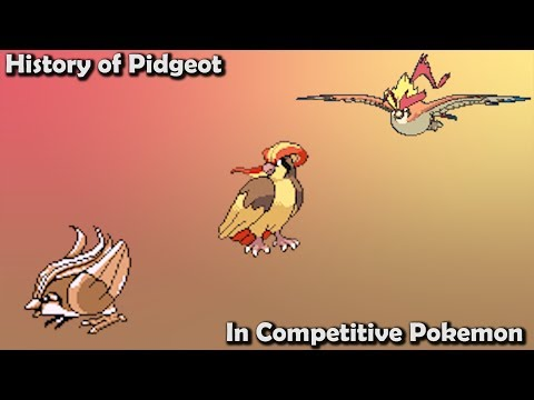 How GOOD was Pidgeot ACTUALLY? - History of Pidgeot in Competitive Pokemon (Gens 1-7)