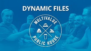 MultiValue Public House jBASE 5.7 Dynamic Files