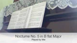 Play Nocturne No.5, For Piano In B Flat Major, H. 37