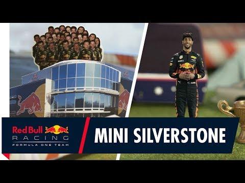 Silverstone, shrunk down to size! Daniel Ricciardo's British Grand Prix Track Guide