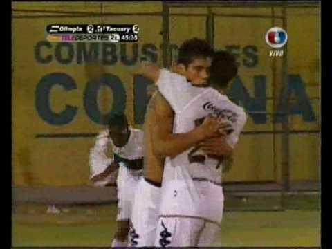 www.elDecano.net - Olimpia vs. Tacuary - Gol 3 - Apertura 2010