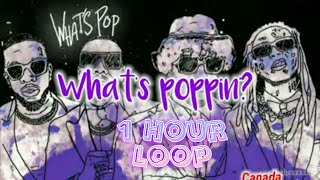 Jack Harlow - Whąts Poppin (feat. Dababy Tory Lanez & lil Wayne) [1 hour + lyrics]