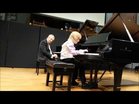 Sebastian Carrington, Mozart Sonata in C, K330 Masterclass with Professor Philip Martin at the Birmi