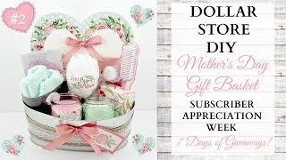 Mother's Day DIY Gift Basket ~ Subscriber Appreciation Week ~ Video 2 Of 7 ~ GIVEAWAY CLOSED