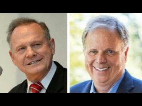 Voters choose between Roy Moore and Doug Jones