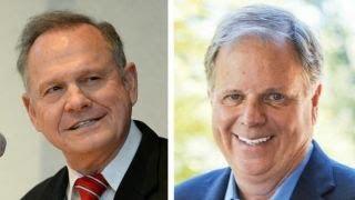 Voters choose between Roy Moore and Doug Jones