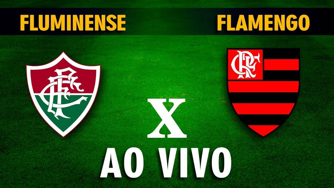 Assistir Fluminense 3 X 3 Flamengo Ao Vivo Online Campeonato Carioca